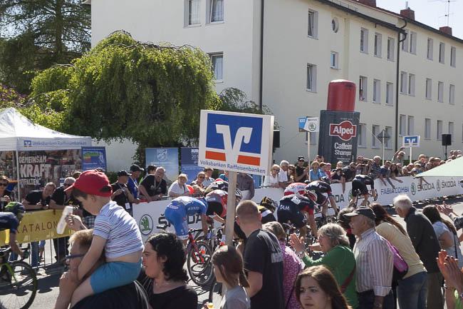 Bayern Rundfahrt 2015 Waldsassen Zieleinlauf Lämmerstraße