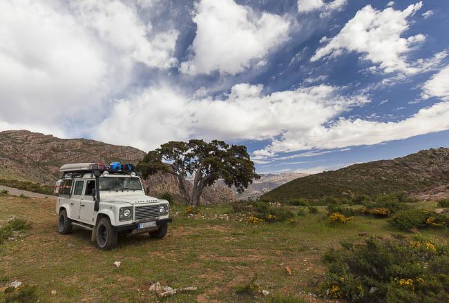 Stellplatz Anti-Atlas in Marokko