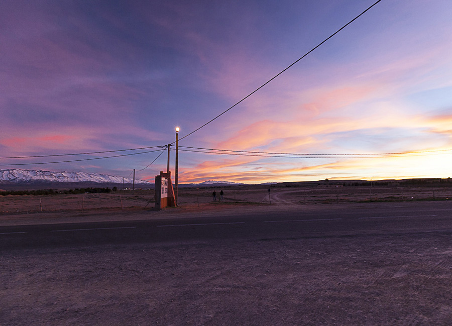 Sonnenuntergang in Marokko